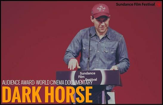 "AUDIENCE AWARD - WORLD CINEMA DOCUMENTARY: ""Dark Horse"" - Director Louise Osmond. Photo courtesy of  Sundance Film Festival"