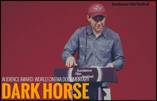 "AUDIENCE AWARD - WORLD CINEMA DOCUMENTARY: ""Dark Horse"" - Director Louise Osmond. Photo courtesy of  Sundance Film Festival"