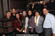 Judge Doris Ling-Cohen (third from left) and pals at the #FreshOffTheBoat Viewing Party at The Circle NYC on February 4, 2015. Photo by Lia Chang