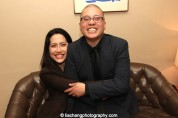 Playwright Frances Ya-Chu Cowhig and director Eric Ting. Photo by Lia Chang
