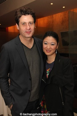 Gary Wilmes and Jennifer Lim. Photo by Lia Chang
