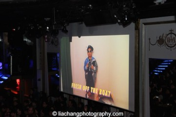 The #FreshOffTheBoat Viewing Party at The Circle NYC on February 4, 2015. Photo by Lia Chang