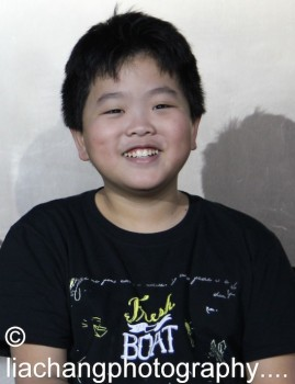 Hudson Yang during the talkback at the #FreshOffTheBoat Viewing Party at The Circle NYC on February 4, 2015. Photo by Lia Chang