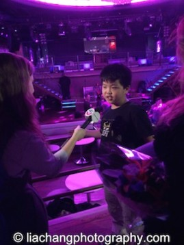 Hudson Yang at the #FreshOffTheBoat Viewing Party at The Circle NYC on February 4, 2015. Photo by Lia Chang