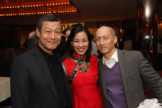 James Saito, Lia Chang and Francis Jue. Photo by Dave Shih