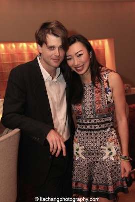 Tommy Smith and Jo Mei. Photo by Lia Chang