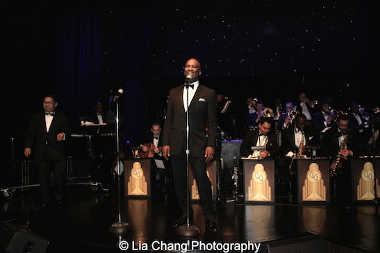John Dokes and the George Gee Swing Orchestra at the Edison Ballroom on May 22, 2014. Photo by Lia Chang