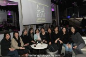June Jee and her entourage at the #FreshOffTheBoat Viewing Party at The Circle NYC on February 4, 2015. Photo by Lia Chang