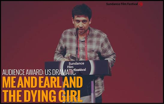 "U.S. GRAND JURY PRIZE: DRAMATIC: ""Me and Earl and the Dying Girl"" - Director Alfonso Gomez-Rejon. Photo courtesy of Sundance Film Festival"