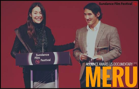"US DOCUMENTARY presented by Acura: ""Meru"" - Directors E. Chai Vasarhelyi and Jimm Chin. Photo courtesy of Sundance Film Festival"