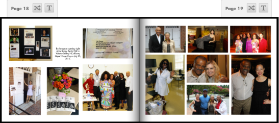 (July 30, 2013)Backstage on opening night at the Shirley Recital Hall in Winston-Salem, NC of Lorey Hayes' Power Play. Photos by Lia Chang