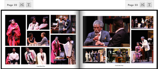(August 1, 2013) Charles Smith's Knock Me A Kiss at the Gerald Freeman Theatre, directed by Chuck Smith, a co-production of Woodie King Jr.'s New Federal Theatre and Legacy Creative Arts Company. The cast  features original castmembers André De Shields as W.E.B. Du Bois, Erin Cherry as Yolande Du Bois, Gillian Glasco as Lenora, Morocco Omari as Jimmy Lunceford, Sean Phillips as Countee Cullen, and Marie Thomas  as Nina Du Bois. Photos by Lia Chang