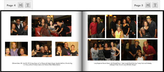 (July 28, 2013) National Black Theatre Festival 2013 reception at Marriott Hotel in Winston-Salem, NC.