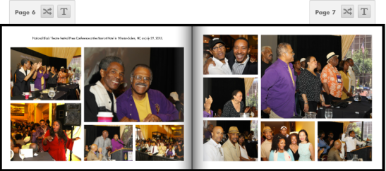(July 29, 2013) National Black Theatre Festival 2013 Press Conference at the Marriott Hotel in Winston-Salem, NC. Photos by Lia Chang