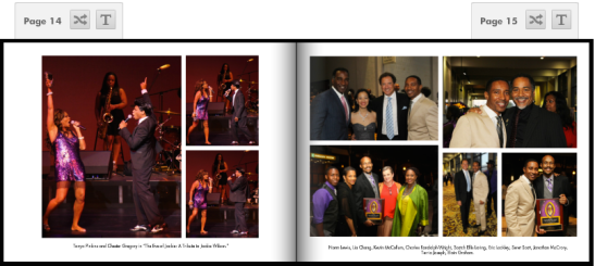 "(July 29, 2013) Tonya Pinkins and Chester Gregory in ""The Eve of Jackie: A Tribute to Jackie Wilson."" Photos by Lia Chang"