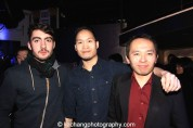 Nick Sakai and pals at the #FreshOffTheBoat Viewing Party at The Circle NYC on February 4, 2015. Photo by Lia Chang