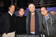 MSNBC anchor Richard Lui, #FreshOfftheBoat executive director Melvin Mar, star Randall Park and Jeff Yang at the #FreshOffTheBoat Viewing Party at The Circle NYC on February 4, 2015. Photo by Lia Chang