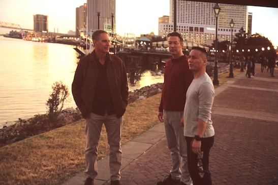 Scott Bakula, Russell Wong and BD Wong in NCIS: New Orleans. Photo courtesy of CBS