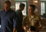 Scott Bakula and BD Wong on NCIS: New Orleans. Photo courtesy of CBS