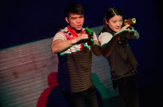 Telly Leung and Jennifer Lim. Photo by Matthew Murphy