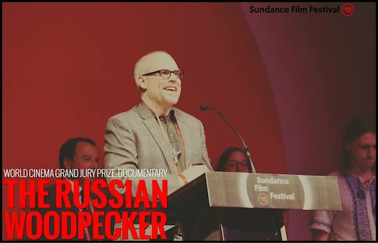"WORLD CINEMA GRAND JURY PRIZE - DOCUMENTARY: ""The Russian Woodpecker"" - Director Chad Gracia. Photo courtesy of Sundance Film Festival"