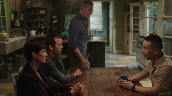 Zoe McLellan, Lucas Black, Scott Bakula and BD Wong in NCIS: New Orleans. Photo courtesy of CBS