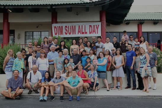 The Chang Family Reunion at the Orchid Gardens in Las Vegas on August 3, 2014.