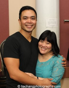 Jose Llana with Ann Harada, who made her Lincoln Center American Songbook Concert debut last February. Photo by Lia Chang
