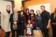 Jose Llana and his family. Photo by Lia Chang