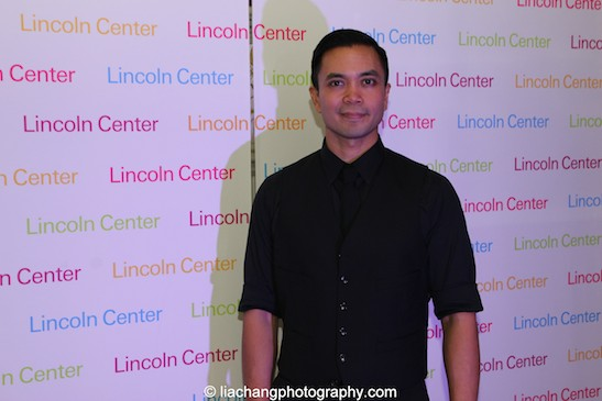 Jose Llana at the Lincoln Center American Songbook afterparty at Tavern on the Green in New York on March 12, 2015. Photo by Lia Chang