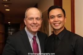 Jed Bernstein, Lincoln Center President, and Jose Llana. Photo by Lia Chang