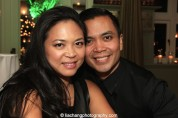 Patricia Llana and her brother Jose Llana at the Lincoln Center American Songbook afterparty at Tavern on the Green in New York on March 12, 2015. Photo by Lia Chang
