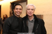 Jose Llana and David Byrne. Photo by Lia Chang
