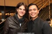 Alex Timbers, Jose Llana. Photo by Lia Chang