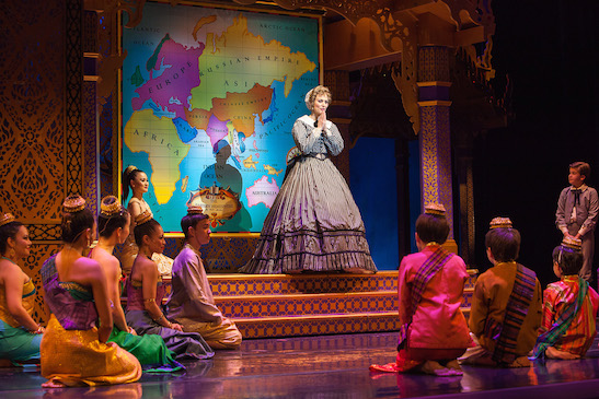 Rachel York and company in Dallas Summer Musicals New Production of Rodgers & Hammerstein's THE KING AND I. Photo by  Chris Waits