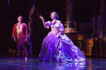 Alan Ariano and Rachel York in Dallas Summer Musicals New Production of Rodgers & Hammerstein's THE KING AND I. Photo by Chris Waits