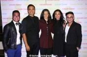 Enrico Rodriguez, Jose Llana_Kimberly Grigsby, Jaygee Macapugay, Jeigh Madjus at the Lincoln Center American Songbook afterparty at Tavern on the Green in New York on March 12, 2015. Photo by Lia Chang