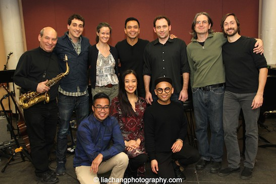 1st Row- Erico Rodriguez, Jaygee Macapugay, Jeigh Madjus. 2nd Row- Jack Bashkow, Simon Kafka, Kimberly Grigsby, Jose Llana, Matt Stine, Pete Donovan, Kevin Garcia. Photo by Lia Chang