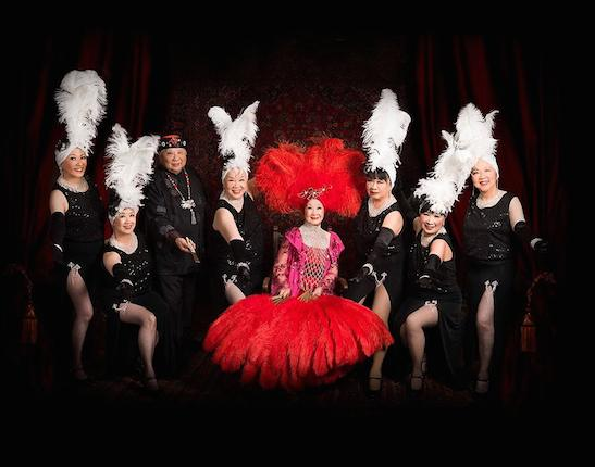 GRANT AVENUE FOLLIES will be performing at the LA screening of Forbidden City, U.S.A. on April 26. Members include veterans dancers from San Francisco's golden era of Chinatown nightclubs. Photo courtesy of Arthur Dong/Facebook