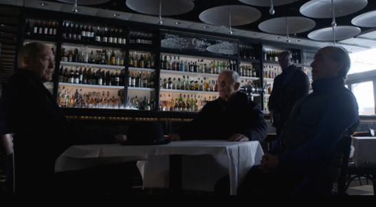 James Spader, Lance Henriksen and Raul Aranas in The Blacklist.