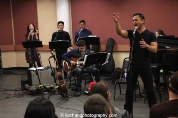 Jaygee Macapugay, Jeigh Madjus, Enrico Rodriguez, Simon Kafka and Jose Llana. Photo by Lia Chang