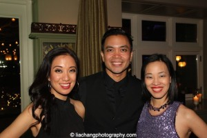 Jaygee Macapugay, Jose Llana and Lia Chang. Photo by David McQueen