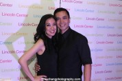 Jaygee Macapugay and Jose Llana at the Lincoln Center American Songbook afterparty at Tavern on the Green in New York on March 12, 2015. Photo by Lia Chang