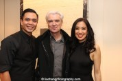 Jose Llana, David Byrne and Jaygee Macapugay. Photo by Lia Chang