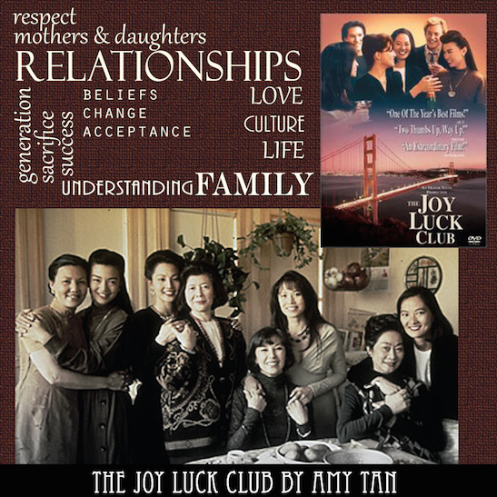 joy luck club essays The joy luck club the movie the joy luck club offers so many excellent examples of the conflicts, misunderstandings, and issues that can arise during.
