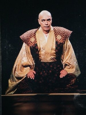 Raul Aranas as The Reciter in North Shore Theatre's production of Pacific Overtures in 2003. Photo courtesy of Raul Aranas/Facebook