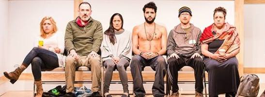 The cast of Small Mouth Sounds. Photo courtesy of Ars Nova