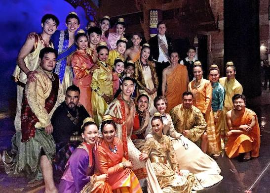 The cast of The King and I. Photo courtesy of Sam Tanabe and Bety Le/Facebook