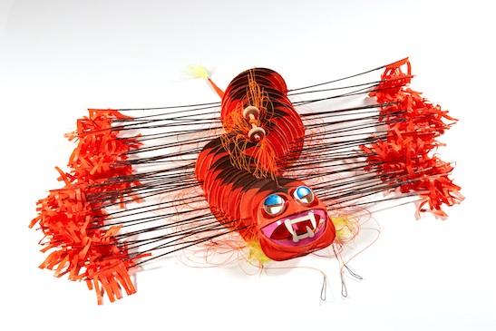 Tyrus Wong, Mini-centipede, © 1990. Courtesy Tyrus Wong Family.