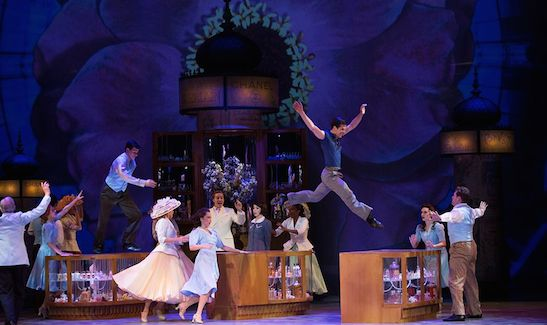 "A scene from ""An American in Paris."" (© 2014 Angela Sterling)"
